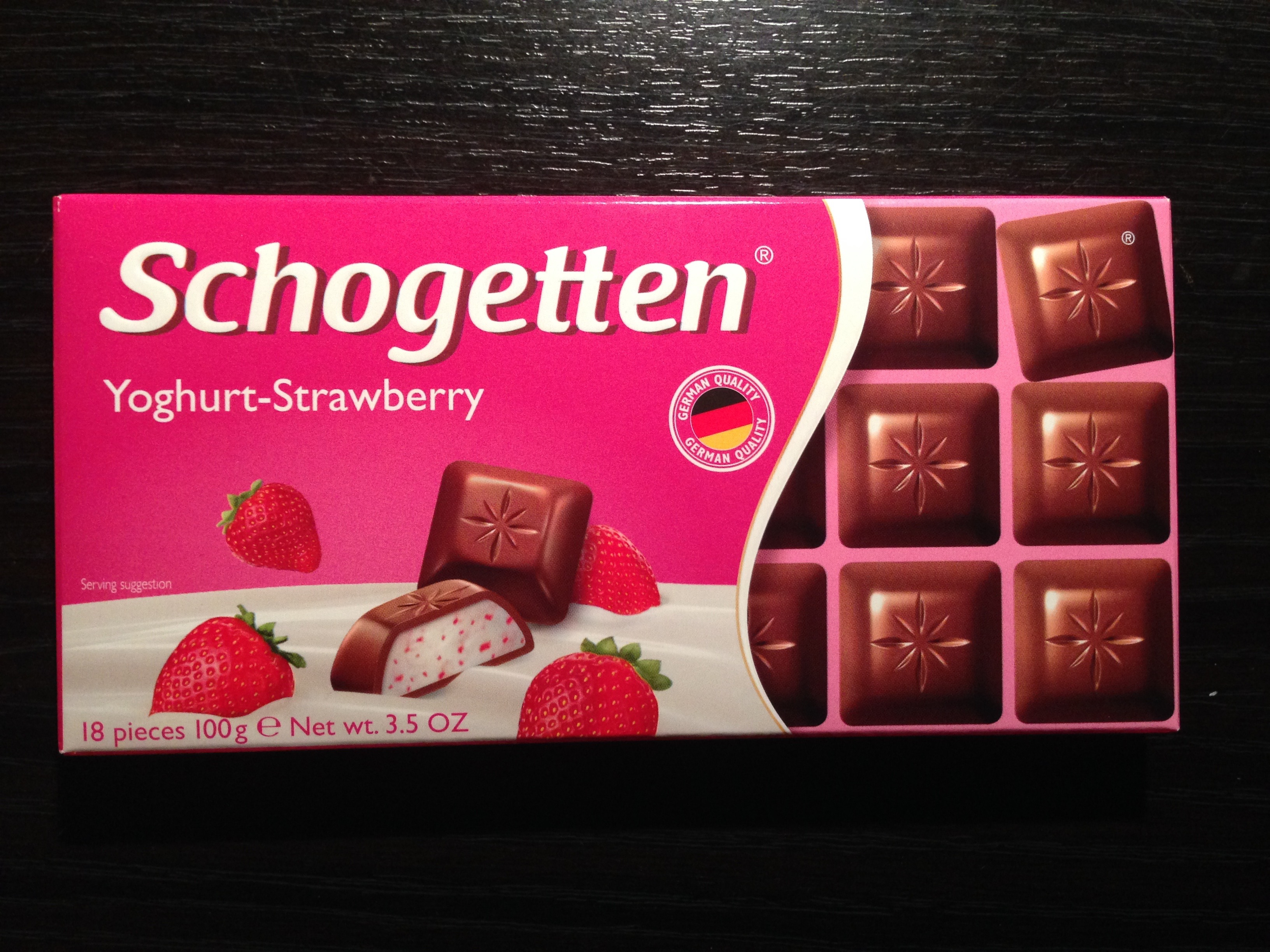 Schogetten - Time To Eat Chocolate